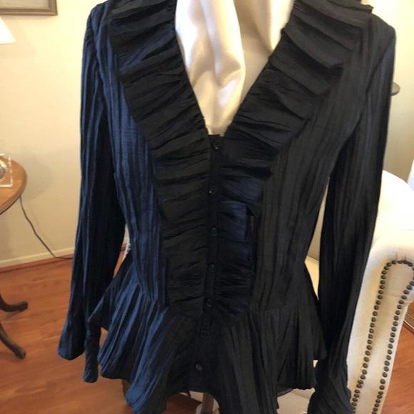 857913843d5 Peter Nygard Tops   Beautiful Evening Dress Blouse   Poshmark
